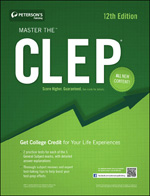Peterson's Bundle 1: Peterson's Master The CLEP
