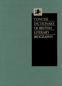 Concise Dictionary of British Literary Biography: Victorian Writers, 1832-1890
