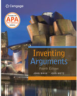 MindTap® English, 1 term (6 months) Instant Access for Mauk/Metz's Inventing Arguments