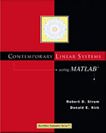 Contemporary Linear Systems Using MATLAB®