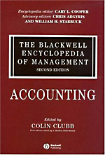 Blackwell Encyclopedia of Management: Vol. 1: Accounting