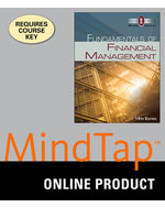 MindTap® Finance, 1 term (6 months) Instant Access for Brigham/Houston's Fundamentals of Financial Management