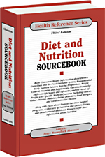 Diet & Nutrition Sourcebook