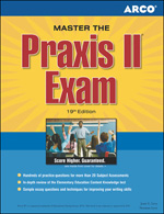 Peterson's Bundle 1: Arco Master The Praxis II Exam