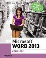 Microsoft® Word 2013: Complete