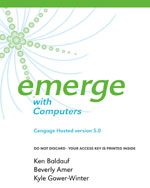Cengage-Hosted Emerge with Computers v. 5.0 Printed Access Card