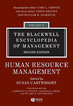 Blackwell Encyclopedia of Management: Vol. 5: Human Resource Management