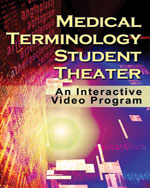Medical Terminology Student Theater Online - Blackboard Advantage Printed Access Card