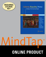 MindTap® History, 2 terms (12 months) Instant Access for Murrin/Hämäläinen/Johnson/Brunsman/McPherson/Fahs/Gerstle/Rosenberg/Rosenberg's Liberty, Equality, Power: A History of the American People