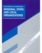 Encyclopedia of Associations: Regional, State and Local Organizations: An Associations Unlimited Reference