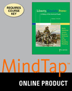MindTap® History, 1 term (6 months) Instant Access for Murrin/Hämäläinen/Johnson/Brunsman/McPherson/Fahs/Gerstle/Rosenberg/Rosenberg's Liberty, Equality, Power: A History of the American People, Volume 1: To 1877