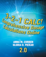 3-2-1 Calc! Comprehensive Dosage Calculations Online V2.0: 2 year Printed Access Card