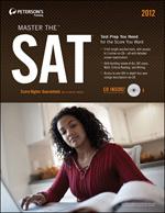 Peterson's Bundle 1: Peterson's Master The SAT 2012