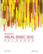 Microsoft® Visual Basic 2012: RELOADED