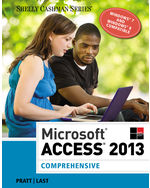 Microsoft® Access 2013: Comprehensive