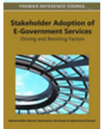 E-Democracy And E-Participation Bundle: Stakeholder Adoption Of E-Government Services: Driving And Resisting Factors