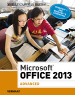 Microsoft® Office 2013: Advanced