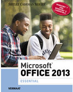 Microsoft® Office 2013: Essential