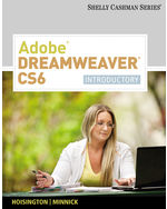 Adobe® Dreamweaver® CS6: Introductory