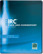 2012 International Residential Code Commentary Combo (Vol. 1 & 2) CD‐ROM