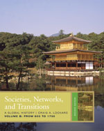 Societies, Networks, and Transitions, Volume B: From 600 to 1750