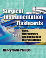 Surgical Instrumentation Flashcards Set 2: Bone, Neurosurgery, and Head and Neck Instrumentation
