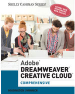 Adobe® Dreamweaver® Creative Cloud: Comprehensive