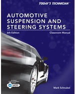 Today's Technician: Automotive Suspension & Steering Classroom Manual and Shop Manual