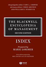Blackwell Encyclopedia of Management: Vol. 12: Strategic Management