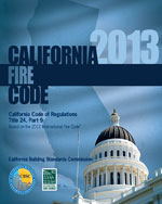 2013 California Fire Code, Title 24 Part 9