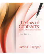 MindTap® Paralegal, 1 term (6 months) Instant Access for Tepper's The Law of Contracts and the Uniform Commercial Code
