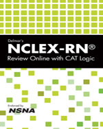 Delmar's NCLEX-RN® Review Online with CAT Logic 1-Year Printed Access Card