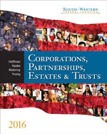 South-Western Federal Taxation 2016: Corporations, Partnerships, Estates and Trusts, 39th Edition
