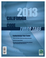 Turbo Tabs: 2013 CA Residential Code Title 24 Part 2.5