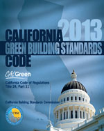 2013 California Green Building Standards Code, Title 24 Part 11