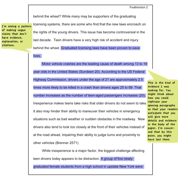book essays citation