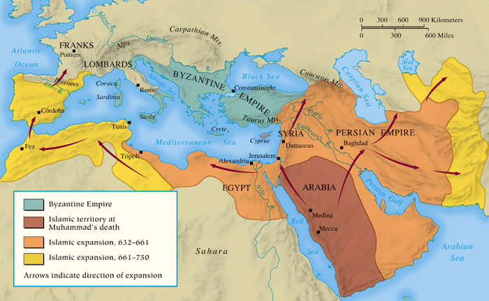 rise and spread of islam essay Beginning around 640, islam spread into the northern part of the continent, bringing with it the unifying forces of religious practices and law, the shari'a as islam spread, many african rulers converted to the new religion, and centralized states.