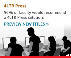 Four Letter Press is recommended by 97 percent of faculty who used it. Click to learn about the newest titles.