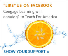 Tap fo teachers! ...with a donation from MindTap . Show Your Support